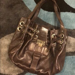 Reduced Authentic JIMMY CHOO VINTAGE brown leather